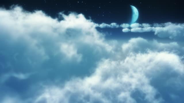 Dreams, abstract animation. HD