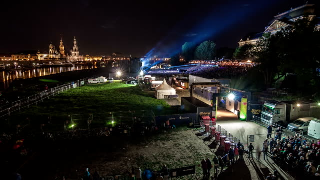 dresden concert time lapse - hofkirche stock videos & royalty-free footage