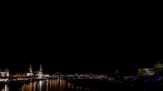 dresden fireworks - hofkirche stock videos & royalty-free footage