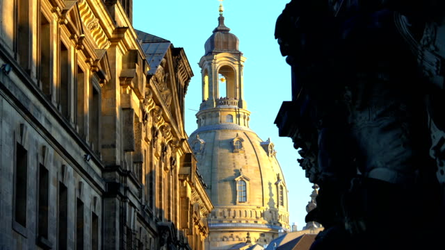 dresden frauenkirche - dresden frauenkirche stock videos & royalty-free footage