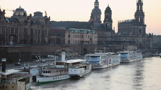 dresden, germany - hofkirche stock videos & royalty-free footage