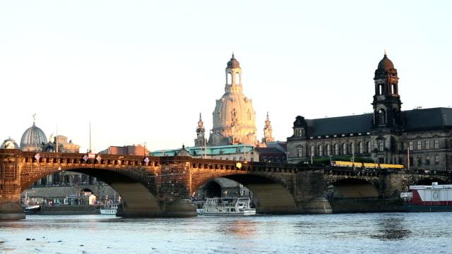 dresden in germany - hofkirche stock videos & royalty-free footage