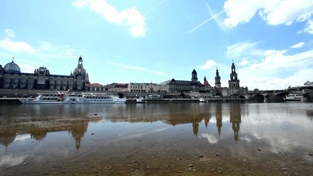 dresden panorama - germany - hofkirche stock videos & royalty-free footage