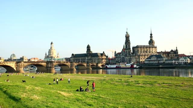 dresden - hofkirche stock videos & royalty-free footage