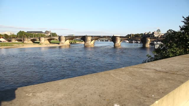 dresden - bridge built structure stock videos & royalty-free footage