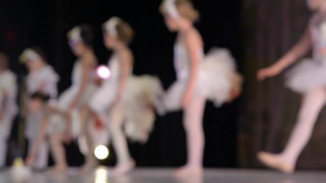 dress rehearsal 2019 spring gala at the dickinson theatre at piedmont community college charlottesville va - ballet performance stock videos & royalty-free footage