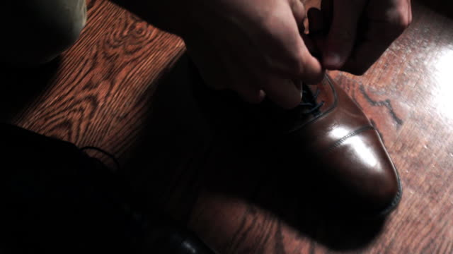 dress shoes - dress shoe stock videos and b-roll footage