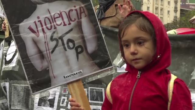 dressed in black argentine women took to the streets wednesday to protest the brutal rape and murder of a 16 year old girl the latest incident of... - brutal killing stock videos & royalty-free footage