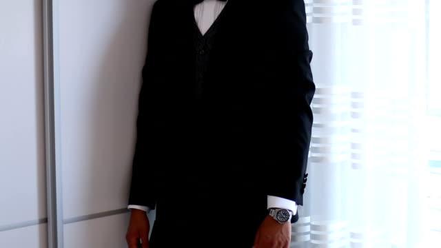 dressed in his business best - metrosexual stock videos & royalty-free footage