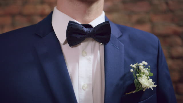 dressed up and ready to walk down the aisle - metrosexual stock videos & royalty-free footage