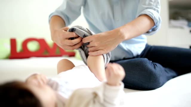 L'habillage des bébés