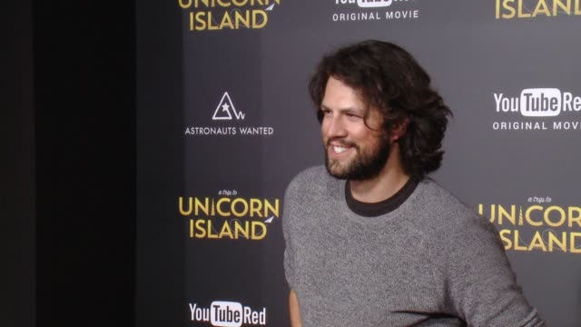 """drew at """"a trip to unicorn island"""" world premiere at tcl chinese theatre on february 10, 2016 in hollywood, california. - tcl chinese theatre stock-videos und b-roll-filmmaterial"""