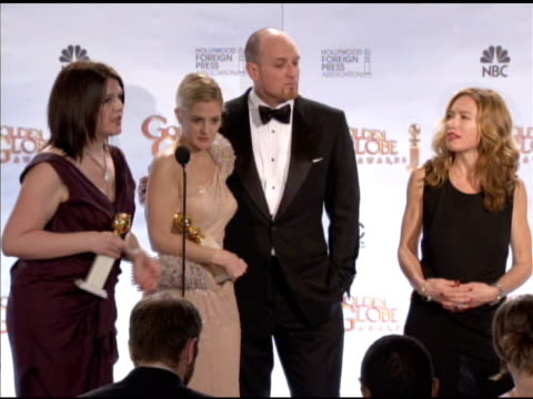 Drew Barrymore and the cast of Grey Gardens on the other versions of the film affecting its development at the 67th Annual Golden Globe Awards Press...
