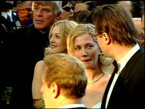 drew barrymore at the 1999 academy awards at the shrine auditorium in los angeles, california on march 21, 1999. - 71st annual academy awards stock videos & royalty-free footage
