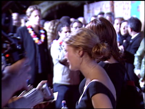 Drew Barrymore at the '50 First Dates' Premiere on February 3 2004
