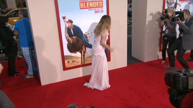 Drew Barrymore at the 'Blended' Los Angeles Premiere at TCL Chinese Theatre on May 21 2014 in Hollywood California