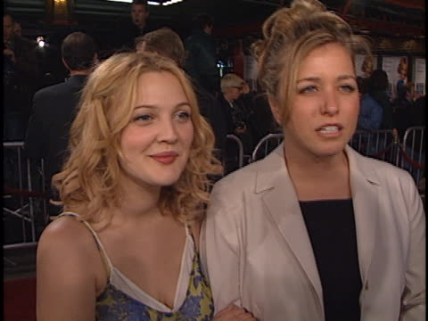 Drew Barrymore at the Never Been Kissed Premiere at Manns Chinese Theater Hollywood in Hollywood CA
