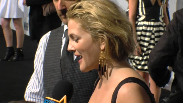 Drew Barrymore at the 'Whip It' Premiere at Hollywood CA