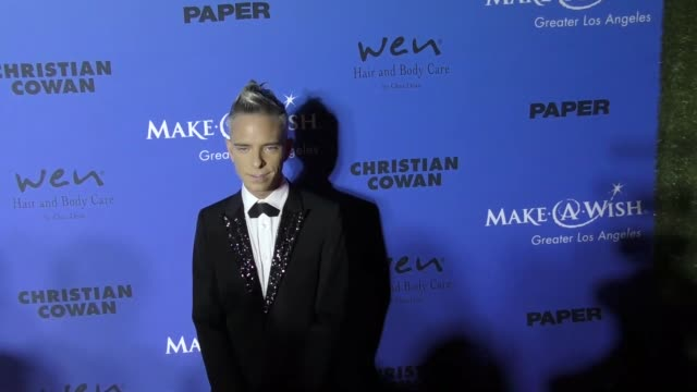 Drew Elliot at the PAPER Magazine Runway Benefit For MakeAWish Foundation on October 24 2017 in Los Angeles California