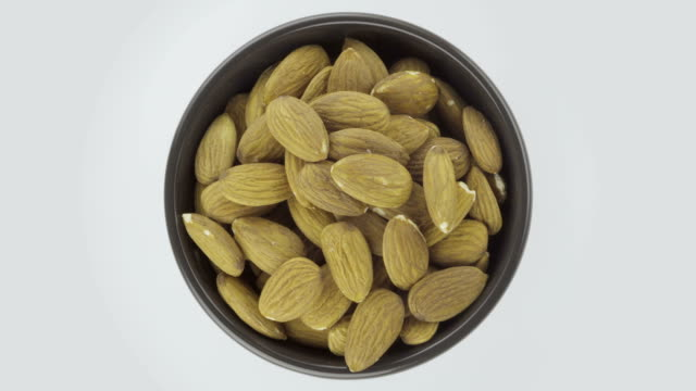 dried almond - loopable 4k video - almond stock videos and b-roll footage