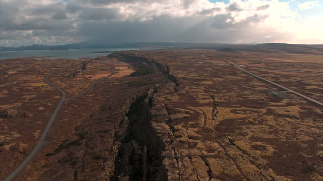 dried and cracked land / iceland - soil stock videos & royalty-free footage
