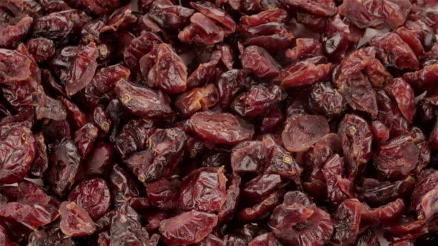 dried blueberries - 4k video - raisin stock videos & royalty-free footage