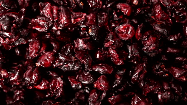 Dried cherry. Food background