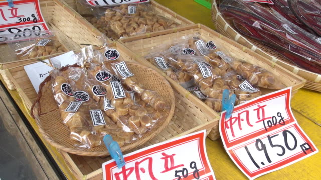 dried fish for sale - clothes peg stock videos & royalty-free footage