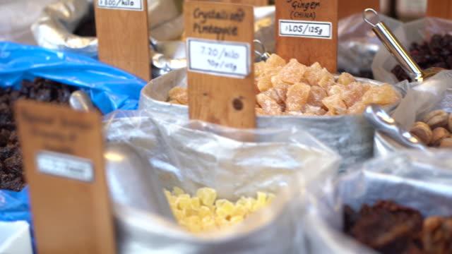 dried fruit - english language stock videos & royalty-free footage