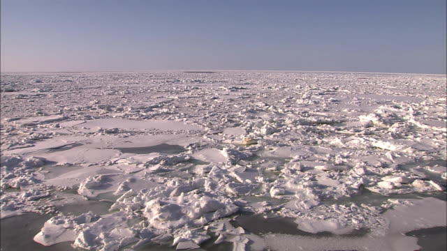 Drift ice of Hokkaido