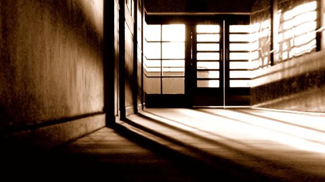 Drifting down a corridor