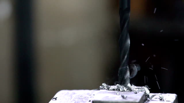 drilling metal hd - sheet metal stock videos and b-roll footage