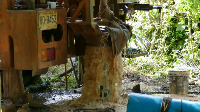 drilling rig to a water well for crop irrigation - drill stock videos & royalty-free footage