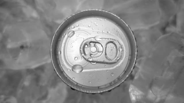 drink can and ice - carbonated stock videos & royalty-free footage