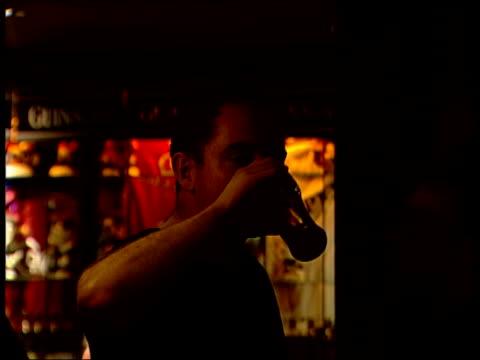 Doctor who treated George Best addresses Belfast schoolchildren NORTHERN IRELAND Belfast People dancing and drinking in night club Vox pops SOT...