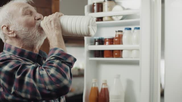 drinking milk! - milk stock videos & royalty-free footage