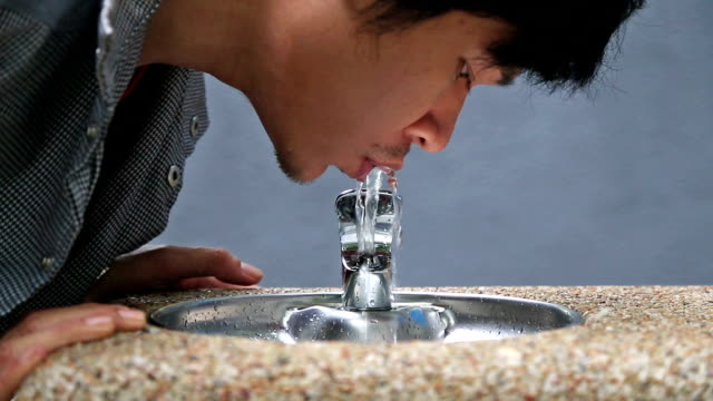 Drinking Water From Public Tab