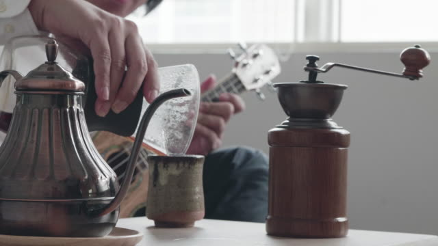 drip coffee - making stock videos and b-roll footage