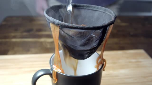 コーヒーのドリップ - 道具類点の映像素材/bロール