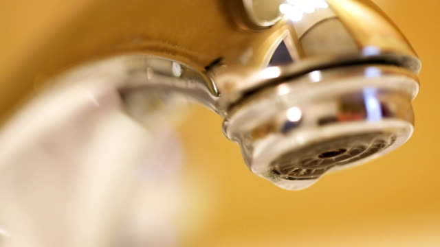 dripping faucet - water pipe stock videos & royalty-free footage