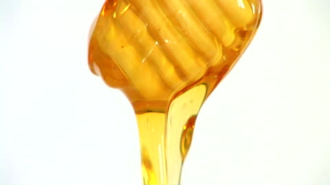 vídeos y material grabado en eventos de stock de dripping honey - miel