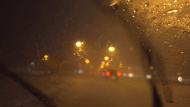 drive in heavy rain - raining cats and dogs stock videos & royalty-free footage