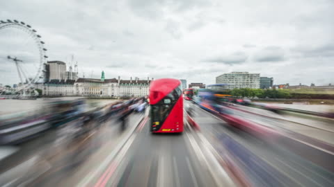 ロンドン - ウェストミン スターでドライブのpov - 英国 ロンドン点の映像素材/bロール