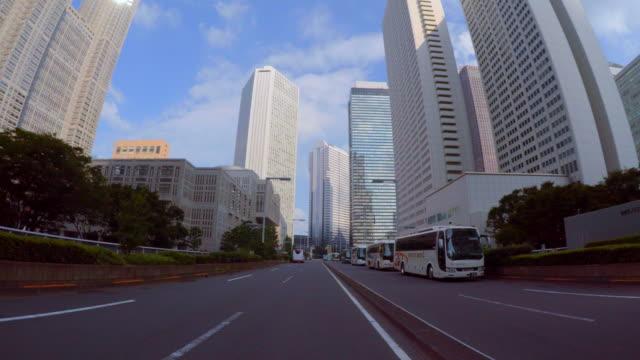 お車で街の-shinjuku-4 k - 町点の映像素材/bロール