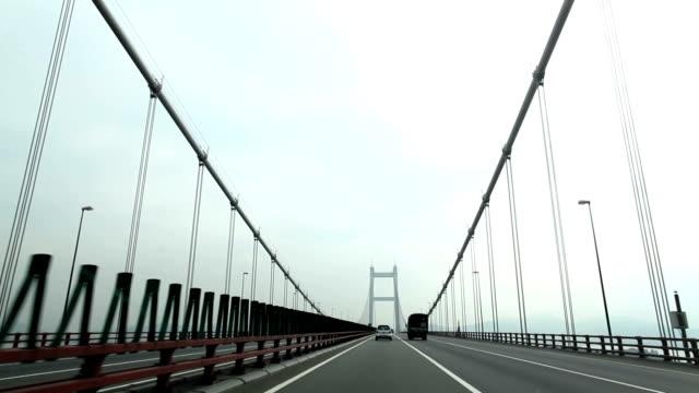 Drive over the bridge