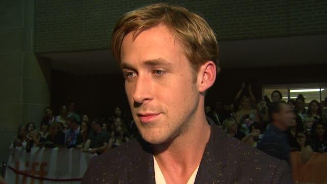 drive premiere 2011 toronto international film festival toronto on canada 9/10/11 - ryan gosling stock videos and b-roll footage