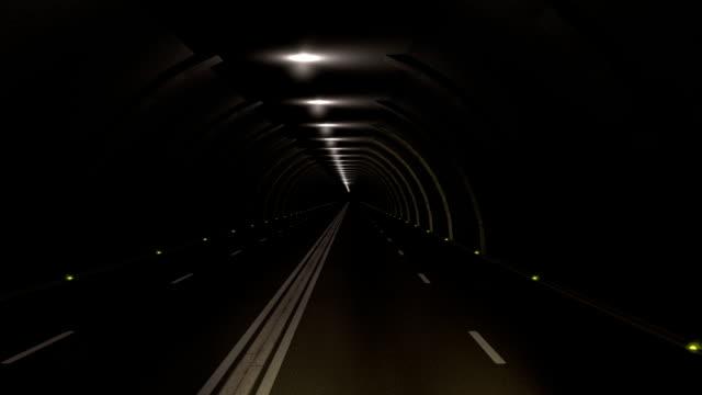 Drive through a tunnel