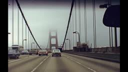 drive through Golden Gate
