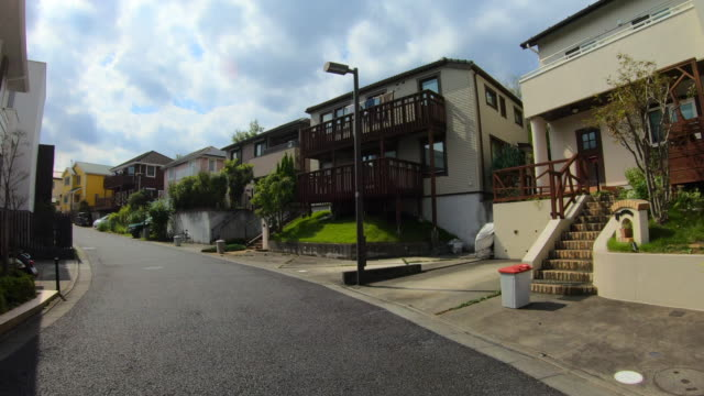 drive through residential area - home sweet home stock videos & royalty-free footage