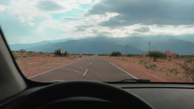 drive through the northwest argentina - argentina stock videos & royalty-free footage